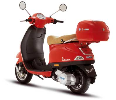 Vespa on Of Two Hybrid Models     The Vespa Lx50 Hys And Piaggiox8 125 Hys