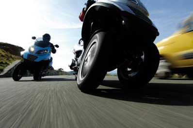 Piaggio MP3 (X2) motorscooter