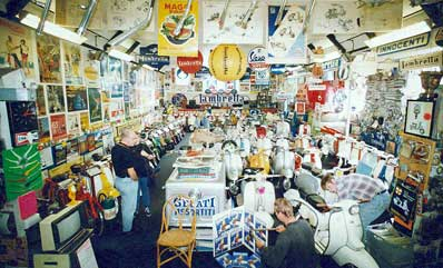Nigel Cox' Lambretta Museum