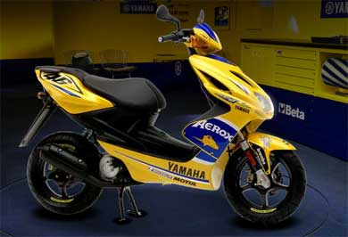 Yamaha Aerox 2008 Picture Design