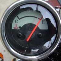 CFMOTO V5 overheating