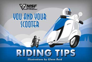 Motorcycle Safety Foundation brochure