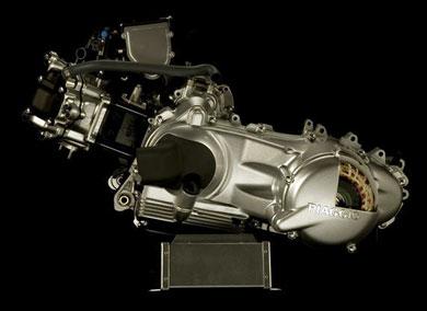 2007 Vespa HyS motor