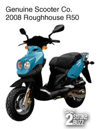 2008 Genuine Scooter Co. Roughhouse R50