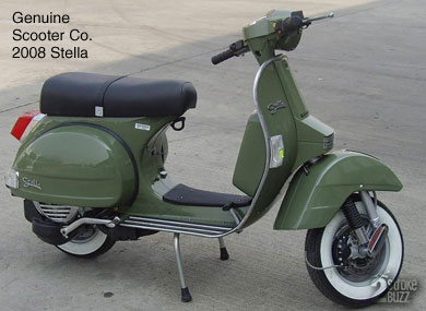 2008 Genuine Scooter Co. Stella, Avocado.