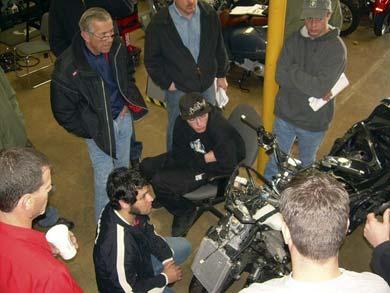 Piaggio training at Costa Mesa Tech Center