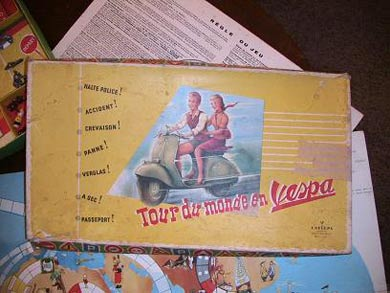 Vespa Board Game