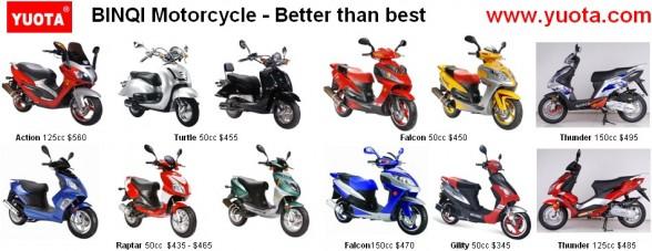 Binqi scooters